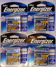 16~Energizer AA Ultimate Lithium Qty 16 Batteries L91 FR6 1.5v New Expires 2036