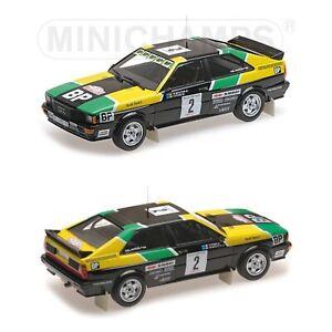 1/18 MINICHAMPS Audi Quattro N°2 Sheep / Pons Rally Of 1000 Tracks 1981 New