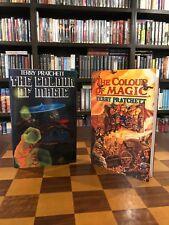 Signed Terry Pratchett  THE COLOUR OF MAGIC U.K. 1st Ed. Facsimile / Hill House