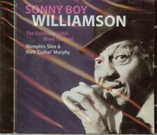 SONNY BOY WILLIAMSON - THE UNISSUED 1963 BLUES FESTIVAL - CD - NEW