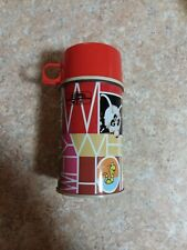 Vintage Abc Curiosity Shop Tv Show Thermos Metal 1972 Complete Who What Where
