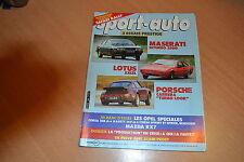Sport Auto N°268 Mazda RX-7.911 Carrera Turbo Look.Lotus Excel.Maserati Biturbo