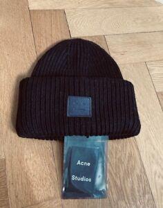 Acne Studios Black Box Beanie