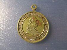MEDALLA RELIGIOSA 1887 PAPA LEON XIII / 50 AÑOS SACEDOCIO LDEL PAPA