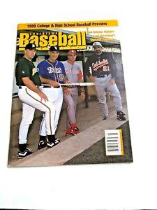 1999 Louisiana Baseball Magazine College & High School Preview LSU Skip Bertman