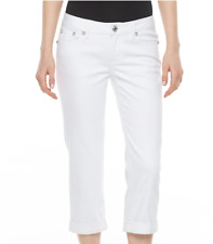 Women's Apt. 9 Embellished Capri Jeans