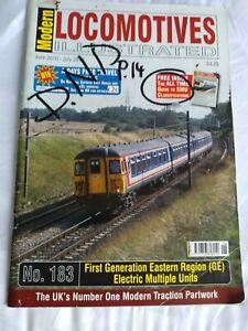 Modern Locomotives Illustrated N0.183 First generation Eastern GE EMUs POSTFREE