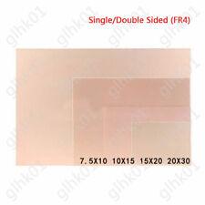 Copper Clad Plate Laminate Pcb Circuit Board Fr4 7x10cm 10x15cm 15x20cm 20x30cm