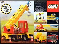 Lego 855 955 Technic Expert Builder MOBILE CRANE Complete w/Instructions