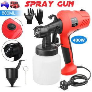 Electric Airless Paint Sprayer Spray Gun Handheld DIY Paint House Craft 3 Modes