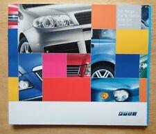 FIAT RANGE 2004 UK Mkt prices brochure - Panda Punto Stilo Doblo Multipla Ulysee