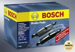 BOSCH Front Axle BRAKE PADS SET for VOLVO V70 2.3 AWD 2000-2004