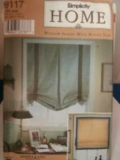 Simplicity Sewing Pattern 9117 Window Shades