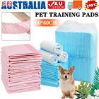 50/200/400Pk Pet Toilet Training Pads Puppy Dog Cat Pee Indoor Super Absorbent