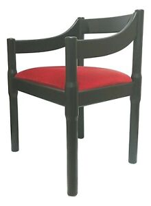 Chair Armchair Carimate Design vico magistretti For cassina Years 60