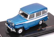 Jeep Willys Station Wagon 1960 Metallic Blue / White 1:43 Model CLC261 CLC261