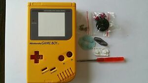 ES-BEST3DCASESSHOP CASE FULL YELLOW GAMEBOY CLASSIC NEW
