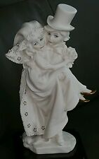 "Giuseppe Armani Florence 9"" Figurine Sculpture ""Just Married� 1157F euc 1986 see"
