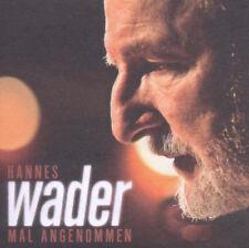 Hannes Wader – Mal Angenommen  CD NEW