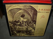 KARAJAN / BACH mass in b minor ( classical ) 3lp box angel