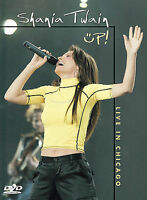 Shania Twain - Up: Live In Chicago (DVD, 2003, Amaray Case)