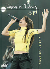 Shania Twain - Up: Live In Chicago (DVD, 2003) NEW