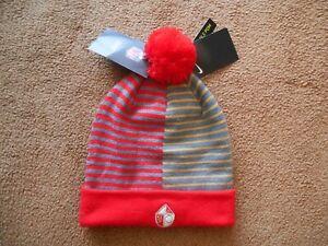Authentic Nike San Francisco 49ers STITCH Pom Pom Beanie Unisex 1 Size NEW