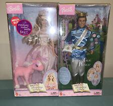 Barbie Of Swan Lake Fantasy Tales Nutcracker 2003 & Prince Ken SEALED SET