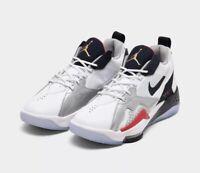 Nike Jordan Zoom 92 Men's 15 Basketball Shoes White/Obsidian-Team Red CK9183-101