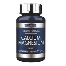 Scitec Nutrition Calcium-Magnesium - 100 Tabl. Magnesium - 250mg - Calcium 500mg