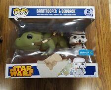 star wars sandtrooper and dewback funko pop