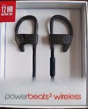 Beats by Dr. Dre Powerbeats3 Wireless Ear-Hook Headphones - Black, New