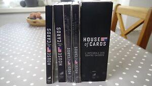 House of Cards Staffel 1 bis 4 in der Box BluRay *teilweise ungeöffnet*