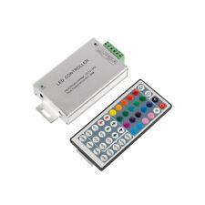 DC 12V-24V LED RGB Strip Controller Driver 24A Dimmer 44 Keys IR Remote Control