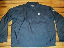 DryJoys FootJoy FJ Black Full Zip Golf Wind Rain Jacket Mens Size: XL