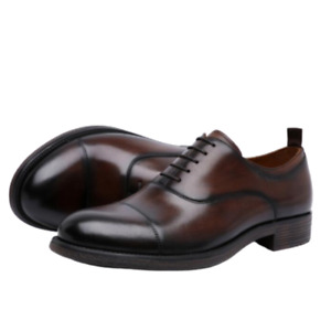 Large Size Mens Real Leather Business Shoes Round Toe Oxfords Office Formal 47 L