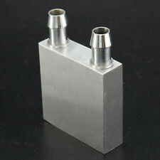 1 PC 40x40x12mm in Alluminio Acqua Liquido Raffreddamento Dissipatore di calore BLOCCO PER PC CPU radiatore #