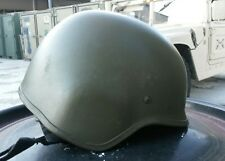 Army NATO Military Battle Helm Helmet Gefechtshelm oliv green Gr. M / Medium