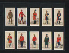cigarette cards military uniforms of the B.E.O 1938 full set