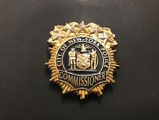 NYPD COMMISSIONER ONIEL SHIELD CHALLENGE COIN