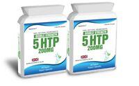 120 5HTP 200mg Double Strength Tablets Depression Insomnia Anxiety Serotonin