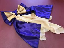 Concours d'elegance hat bow and drape, Concours d'elegance hat drape hat accesso