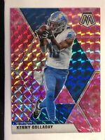 2020 NFL Mosaic Pink Camo Prizm Refractor 🔥Kenny Golladay🔥SP #74 Detroit Lions