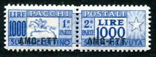 TRIEST A PAKETMARKEN 1949 26 ** POSTFRISCH SPITZENWERT 250€(S3859