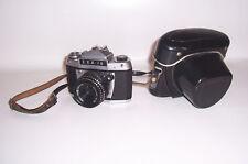 Vintage EXA Ia Spiegelreflexkamera DDR mit Etui !