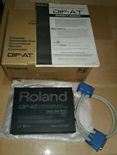 Roland DIF-AT ADAT Lightpipe Tascam T-DIF Interface Box  DIFAT Rbus