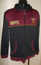 BRISBANE LIONS AFL FOOTBALL CLUB MEN'S ZIP UP JACKET SIZE SMALL