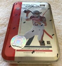 2004 Playoff Prime Signatures Tom Brady Tin All Star Pro Bowl Uniform RARE
