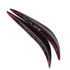 2Pcs PVC Decorative Trim Car Bumper Stickers Protector Car Accessories