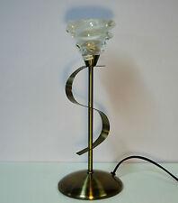 ANTIQUE BRASS TABLE LAMP OAKS KIRBA 6050 TL AB